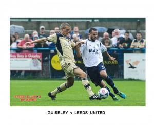 Leeds Utd. Guiseley AFC, Steve Morisson, Danny Lowe
